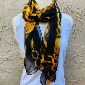 Accessories - Vintage Gold Link Chain Scarf